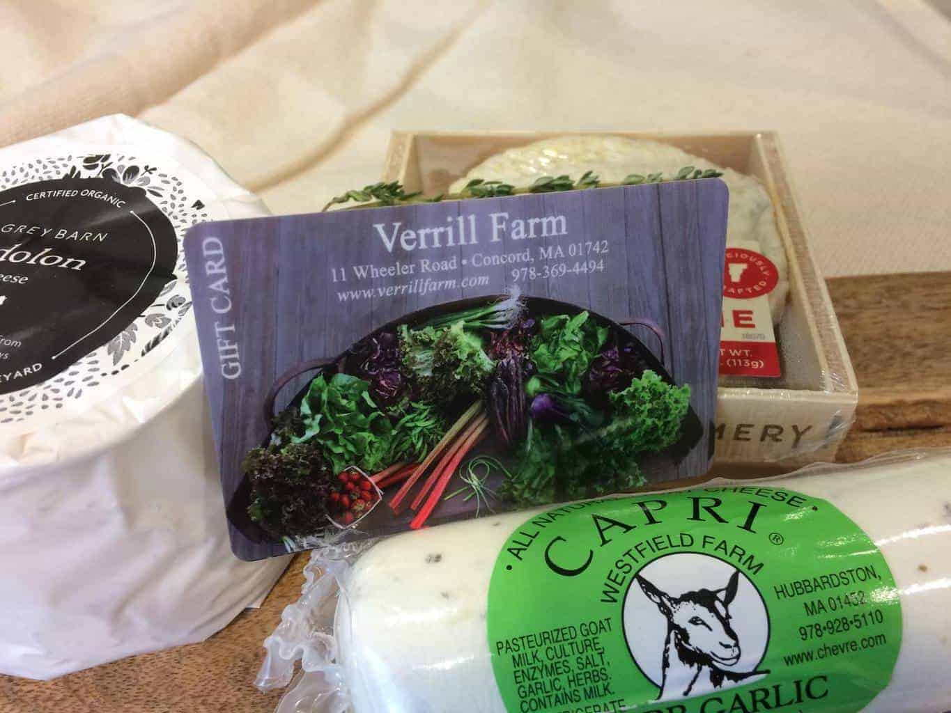 Verrill Farm Gift Cards