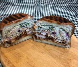 Pulled BBQ Chicken Breast Sandwich