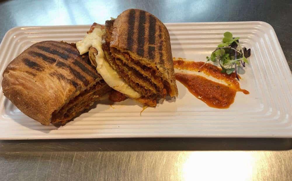 Sandwich Special: Italian Eggplant Parmesan