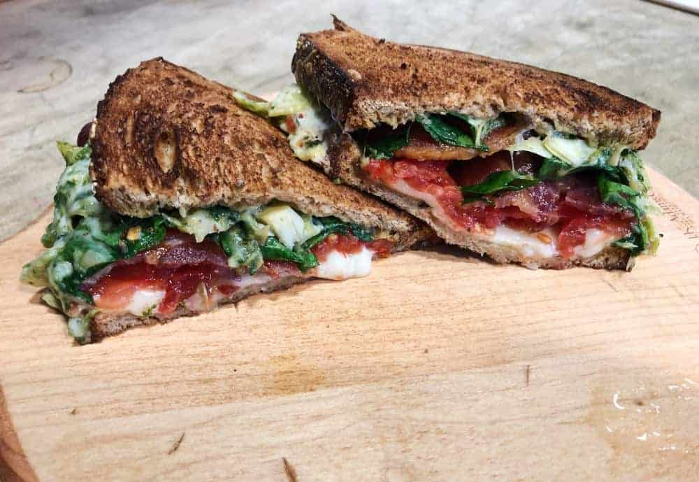 Sandwich Special: Italian Grilled Cheese
