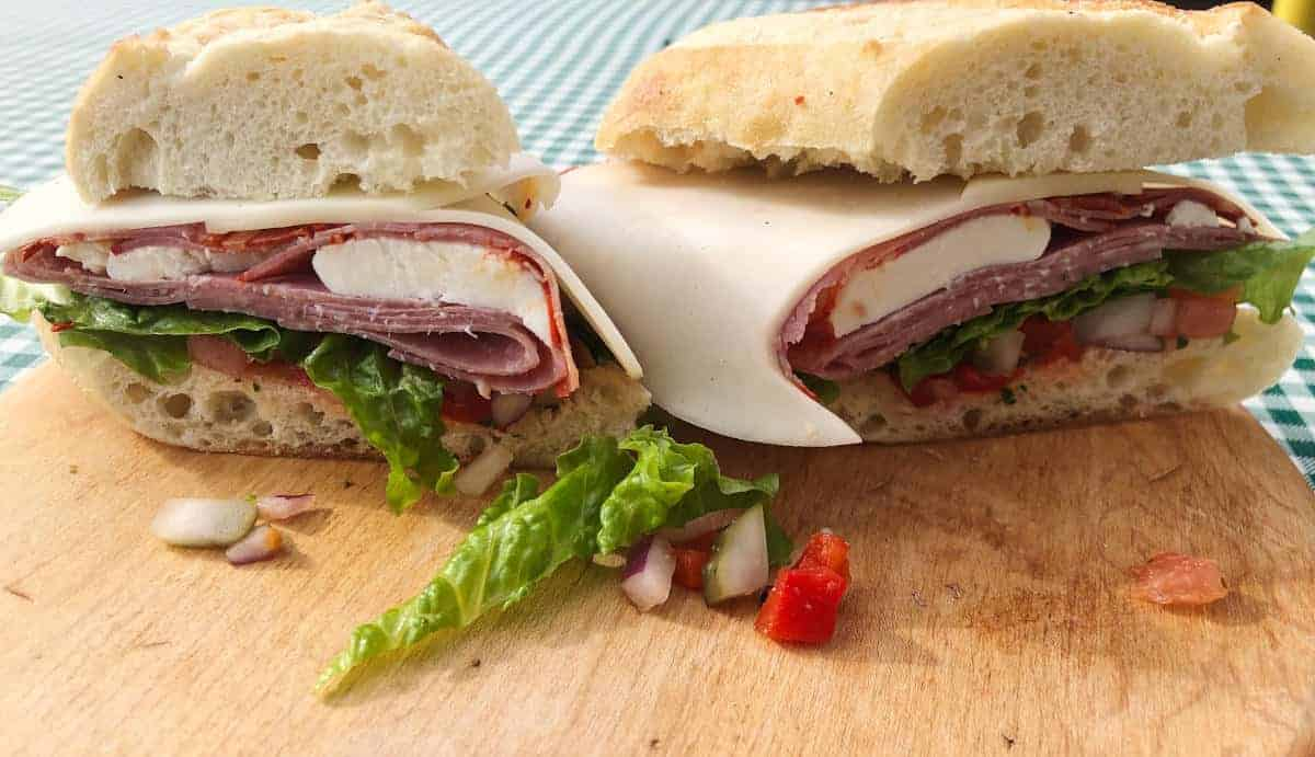 Antipasto Roll
