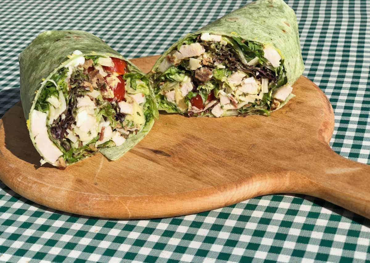 Sandwich Special: Cobb Salad Wrap