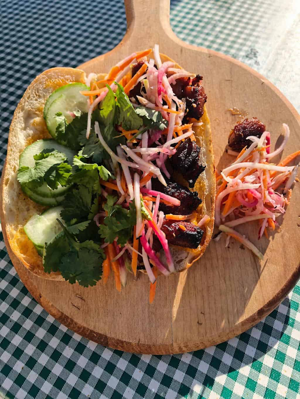 Sandwich Special: Pork Belly Banh Mi