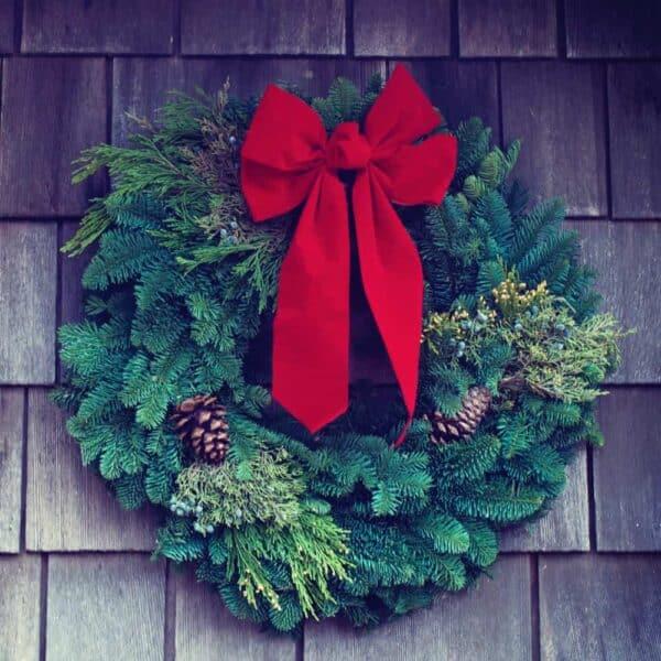 wreath making
