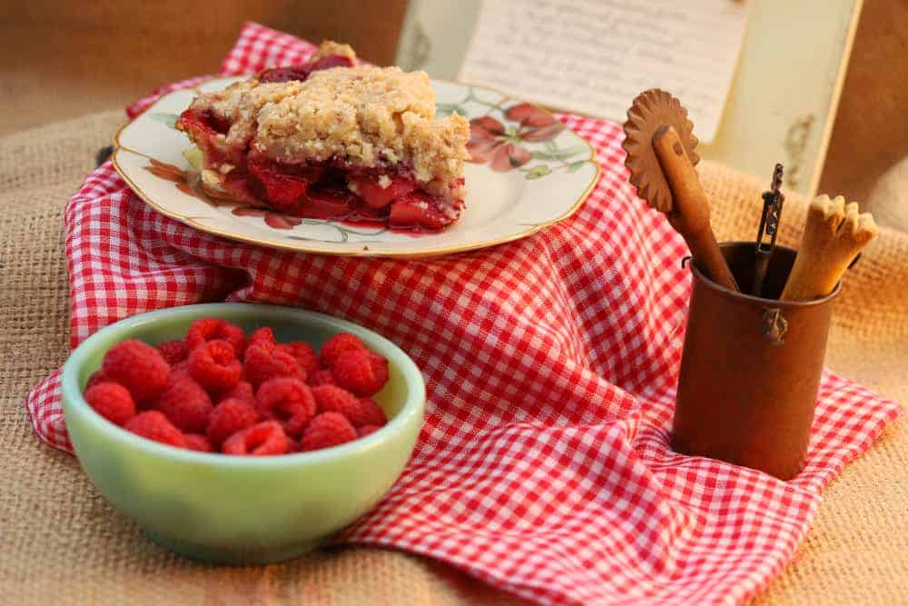 Apple Raspberry Pie – 10″