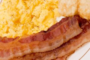 Breakfast eggs & bacon